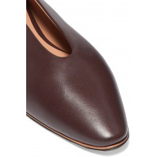 Leather ballet flats Brown In Sale PCW1ZED1G