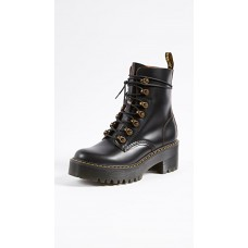Dr. Martens Women's Shoes Leona 7 Hook Boots Black In Size 13 boutique DRMAR30100