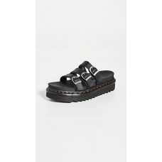 Dr. Martens Womens Shoes Blaire Slide Sandals Black Hydro inexpensive DRMAR30349
