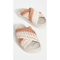 Inuikii Shoes Knitted Crossed Slides Rose online shopping IKKII30030