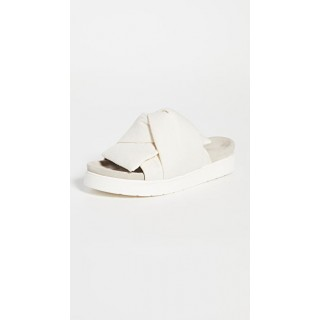Inuikii Shoes Knot Lino Slides Off White for sale IKKII30031