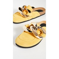 JW Anderson Shoes Chain Loafers Yellow  JANDE30315
