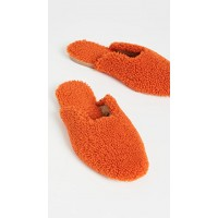 Sleeper Womens Shoes Shearling Slippers Red Clearance SLEPR30082