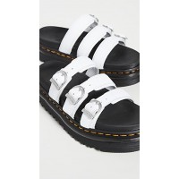 Dr. Martens Blaire Slide Sandals White Hydro expres DRMAR30350