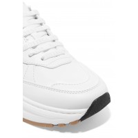 Women Speedster leather sneakers Ivory AE5LQG75H