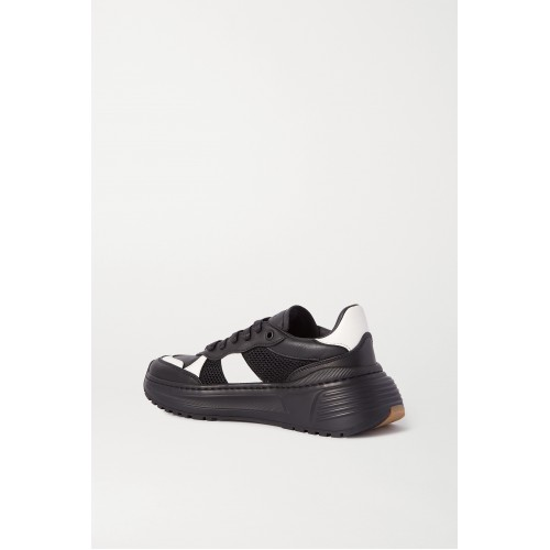 Speedster leather and mesh sneakers Black I00QE254G