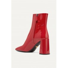 85 patent-leather ankle boots Red ZOV6ABCL0