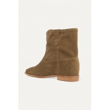 Crisi suede ankle boots Brown On Sale S6RT2V5S7