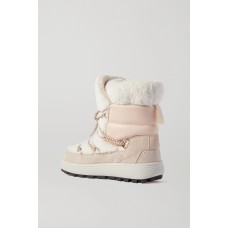 Chamonix 3 suede leather and shearling snow boots Off-white wholesale 53S5PQO16