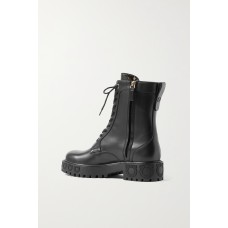 Chopper leather ankle boots Black S38NMY7K8