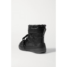 Insolux leather and padded shell ankle boots Black NVGN8CHFT