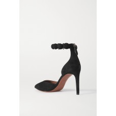 Bombe 90 studded suede pumps Black Cheap 2BXIERICE