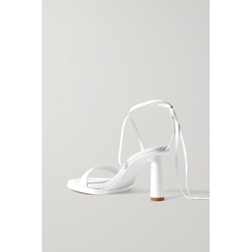 Leather sandals White Cut Off JUCQRMF8S
