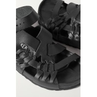 Womens + Central Saint Martins Tallahassee woven leather sandals Black 8DPCXMHIC
